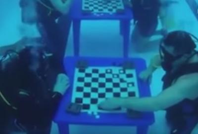 В Кемерове дайверы устроили турнир по подводным шашкам