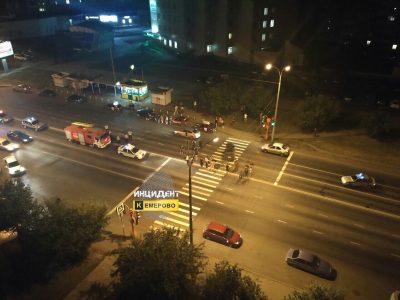 ГИБДД: ночное ДТП с мотоциклом в Кемерове произошло по вине автоледи