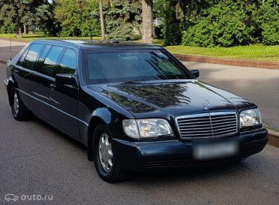 В Москве за 33,8 млн продают бронированный лимузин Бориса Ельцина