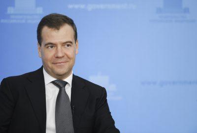 Дмитрий Медведев поздравил строителей с профессиональным праздником