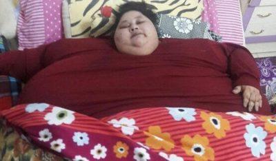 В ОАЭ скончалась самая толстая женщина в мире