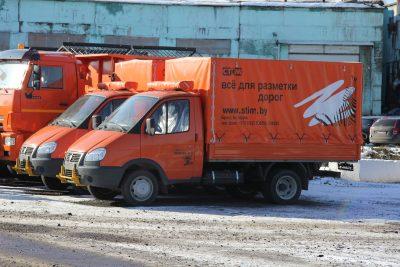 В Кемерове вдвое ускорят нанесение дорожной разметки