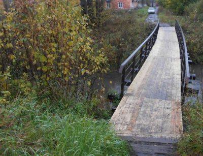В Кемерове начали строить пешеходный мост через Куро-Искитим