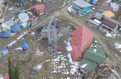 Часть новых подъёмников не успеют открыть к началу сезона в Шерегеше