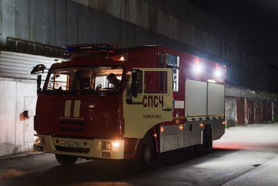 В Кемерове на Кузнецком произошёл пожар в здании вагонного депо