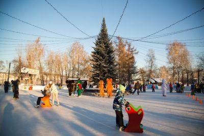 В выходные в кемеровском «Парке Чудес» откроется каток