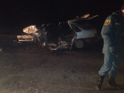 На трассе Белово – Гурьевск произошло смертельное ДТП