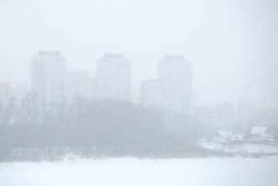 В Кемерове сняли режим неблагоприятных метеоусловий