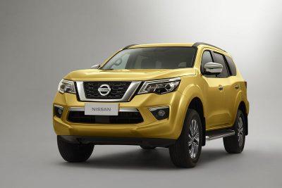 Компания Nissan опубликовала первые фото рамного внедорожника Terra