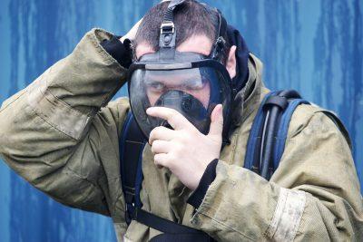 В Прокопьевске из горящей многоэтажки спасли одного человека