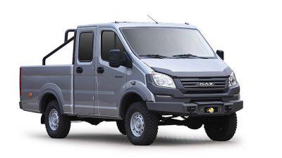 ГАЗ показал новые внедорожные пикап и микроавтобус