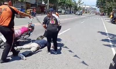 В Филиппинах мужчина инсценировал ДТП, чтобы сделать предложение девушке
