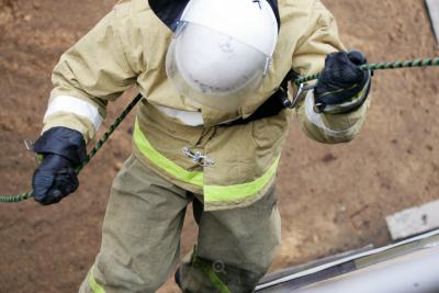 В Кемерове ночью горел частный киоск из-за поджога