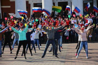 В Кузбассе начало отсчёта 1 000 дней до 300-летия региона отметили танцем