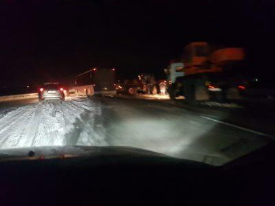 Видео: на кузбасской трассе автобус с пассажирами влетел в трактор