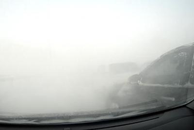 Момент ещё одного массового ДТП под Кемеровом сняли на видео