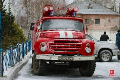 Злодеи не дремлют: в Новокузнецке зафиксировали первый в году автоподжог