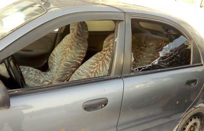 Фото: мстительный кузбассовец разнёс такси из-за алиментов