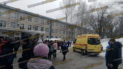 В кемеровском техникуме распылили опасный газ, есть пострадавшие