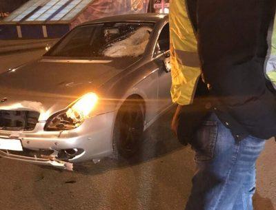Видео: в Кемерове дорогой «Мерседес» насмерть сбила пешехода