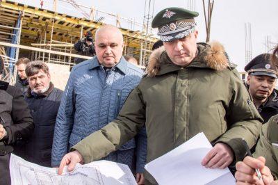 Видео: в Кемерово приехал замминистра обороны