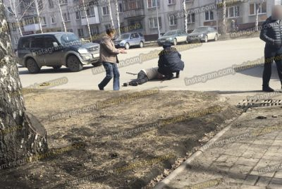 Фото: кемеровчанку сбила машина