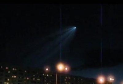 Видео: в небе над Кемеровом сняли НЛО