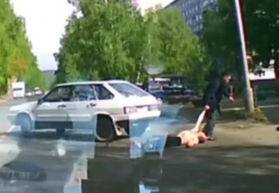 В каком состоянии находится кемеровчанин, которого на дороге вырубил автомобилист
