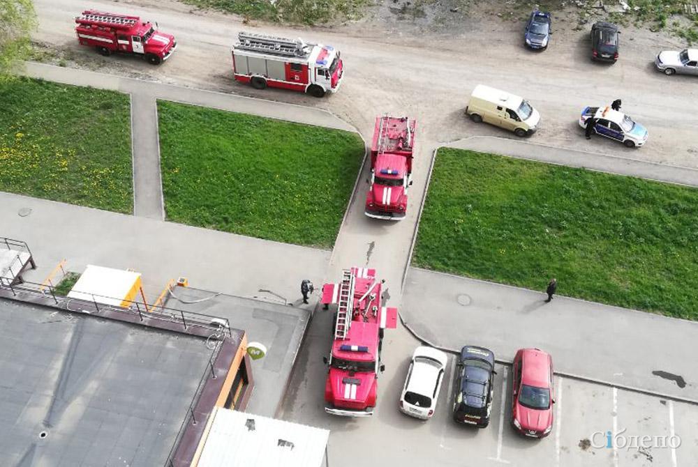 Пожарные и эвакуация: что случилось в кемеровском магазине?