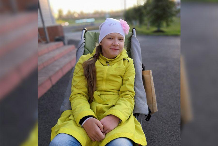В Кузбассе девочке с ДЦП требуется помощь