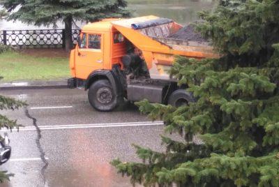 Фото: как наказали водителя грузовика, грубо нарушившего ПДД в Новокузнецке?