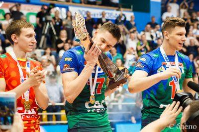 Кемеровчане смогут сфотографироваться с волейбольным Кубком чемпионов