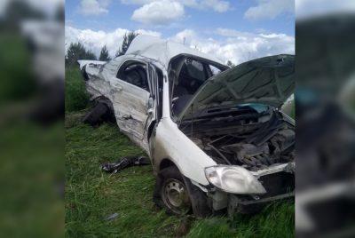 Фото: в Кузбассе на трассе случилось жёсткое и смертельное ДТП