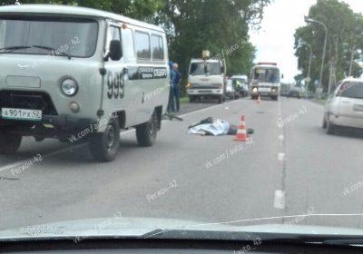 Фото: в Кемерове насмерть сбили велосипедиста