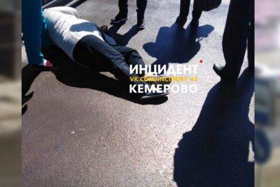Фото: в Кемерове на улице умерла женщина