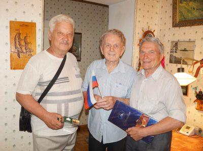 Кузбасских ветеранов поздравили с Днём России