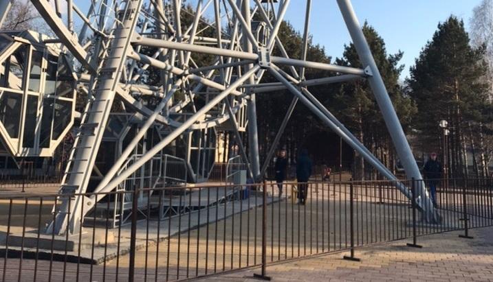 «Было очень страшно»: в Кузбассе взбесилось колесо обозрения, есть пострадавшие