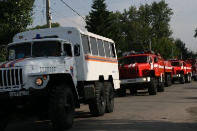 Кузбасские спасатели помогут бороться с пожарами в Красноярском крае