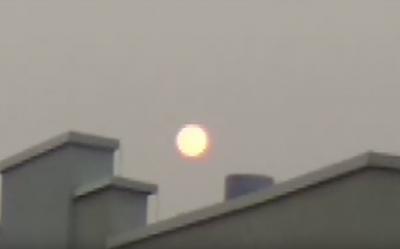Видео: кемеровчанин принял кровавое солнце за кровавую луну