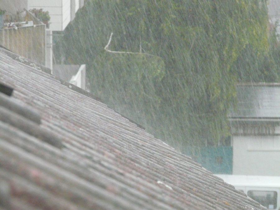 Видео: кемеровскую новостройку затопило ливнем