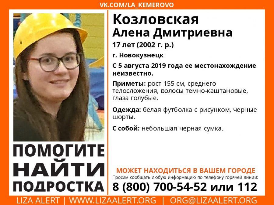 В Кузбассе расширили зону поиска без вести пропавшей девочки
