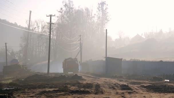 Жители кузбасского города ищут грузовик-призрак