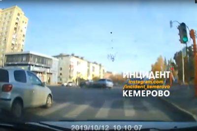 Появились подробности ДТП, произошедшего в центре Кемерова