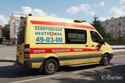 В Кузбассе «скорую» трижды оштрафовали за превышение скорости