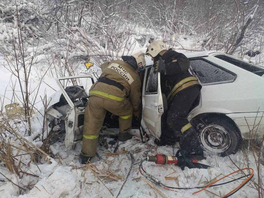 В ДТП на трассе Кемерово – Новосибирск погибла молодая женщина