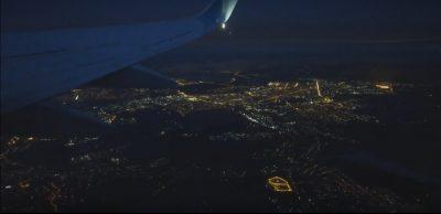 Ночной Кемерово сняли с высоты птичьего полёта