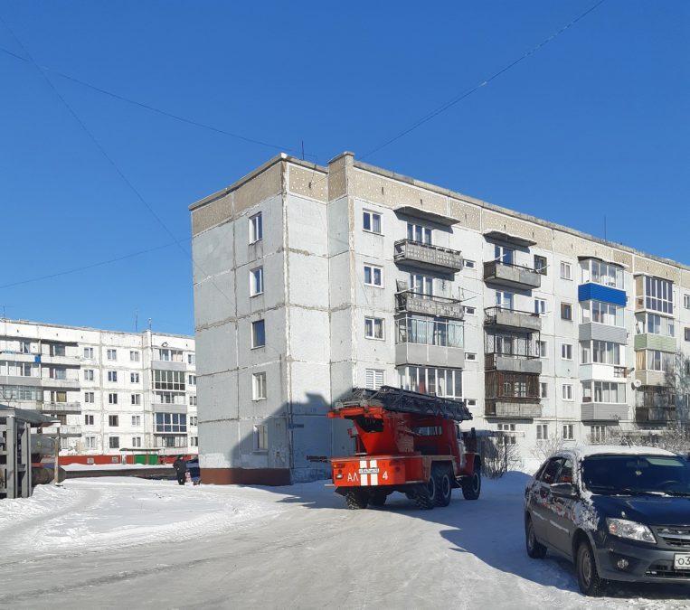 При пожаре в Ленинске-Кузнецком пострадали пожилые супруги